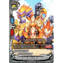 BFE X-BT04A-SS03/0042EN C Invincible Bonds, Ricky & The Raging Spirits