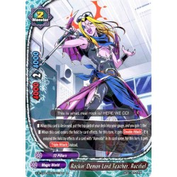 BFE X-BT04A-SS03/0019EN Foil/R Rockin' Demon Lord Teacher, Rucifiel