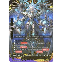 BFE X2-BT01/0008EN RRR White Supreme Dragon Deity of Creations, Gaen