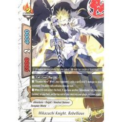 BFE X2-BT01-PR/0329EN PR Mikazuchi Knight, Rebellious