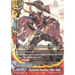 BFE X2-BT01/0021EN FOIL/R Thunderflash Swordsman, Billion Rapier