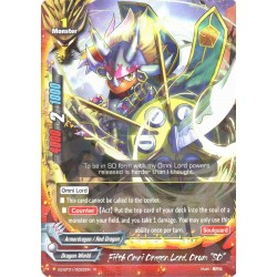 """BFE X2-BT01/0022EN FOIL/R Fifth Omni Dragon Lord, Drum """"SD"""""""