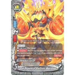 BFE X2-BT01/0027EN FOIL/R Fist Emperor of Manliness, Burn Nova