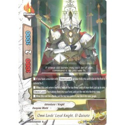 BFE X2-BT01/0030EN FOIL/R Omni Lords' Loyal Knight, El Quixote