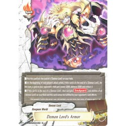 BFE X2-BT01/0044EN FOIL/U Demon Lord's Armor