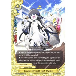 BFE X2-BT01/0063EN FOIL/C Freaky Strength Girl, Hikiko