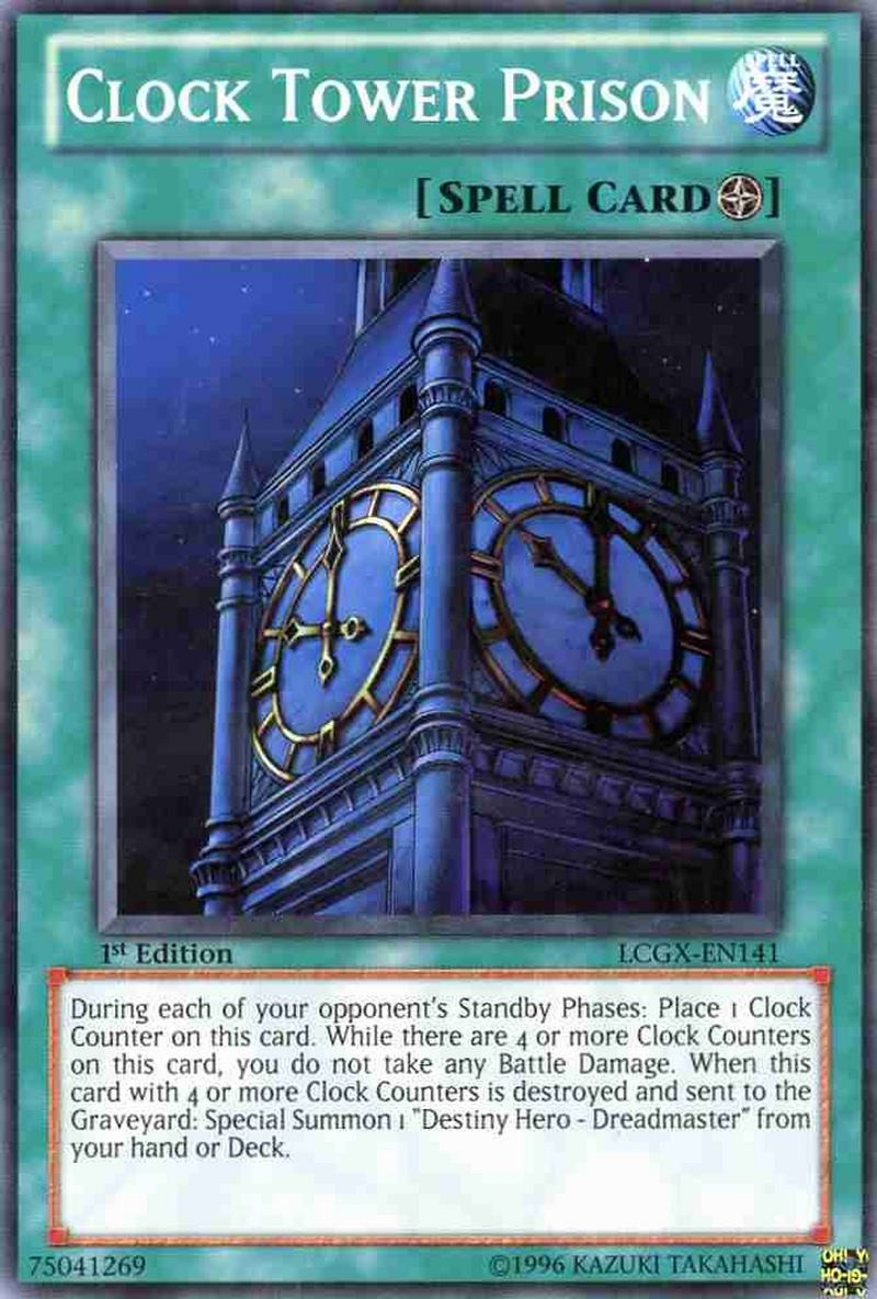 Purchase Lcgx En141 Clock Tower Prison Legendary Collection 2 The Duel Academy Years Yu Gi Oh Cartajouer