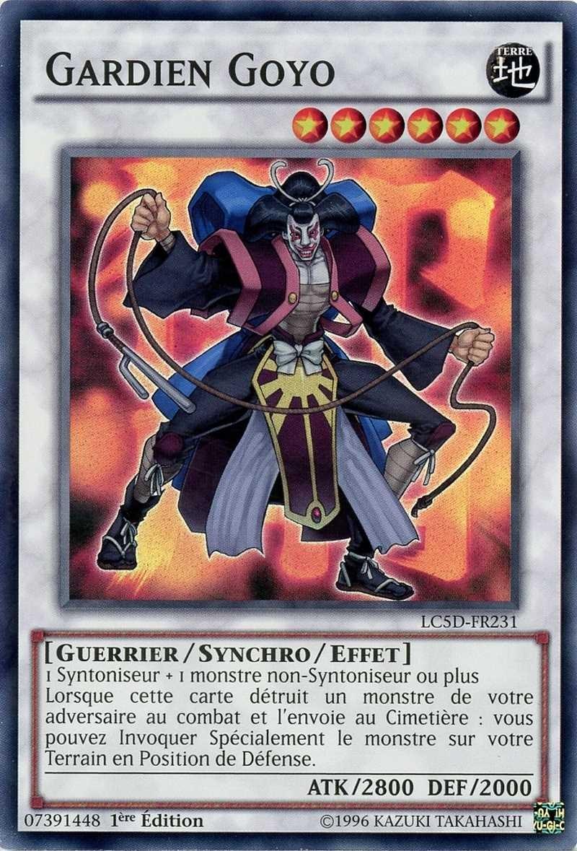 Goyo Guardian YUGIOH~LC5D-FR231 Gardien Goyo