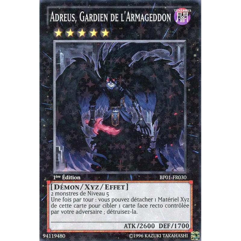 Adreus Carte Yu-Gi-Oh Gardien de l/'Armageddon BP01-FR030 Starfoil Française