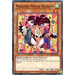 EXFO-EN030 Filles Capucin Mah-Jong /Mahjong Munia Maidens