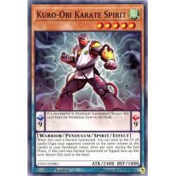 EXFO-EN081 Esprit Karaté Kuro-Obi /Kuro-Obi Karate Spirit