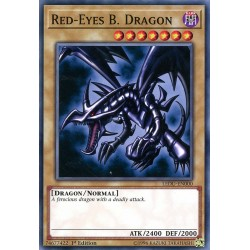 LEDU-EN000 Red-Eyes B. Dragon  / Dragon Noir aux Yeux Rouges