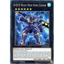 COTD-EN042 D/D/D César, Grand Roi des Vagues / D/D/D Wave High King Caesar