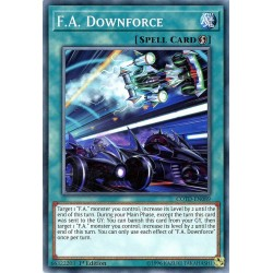 COTD-EN089 Déportance F.A. / F.A. Downforce