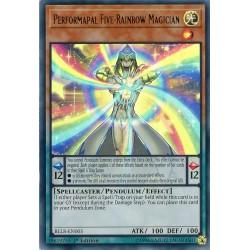 BLLR-EN005 Performapal Five-Rainbow Magician