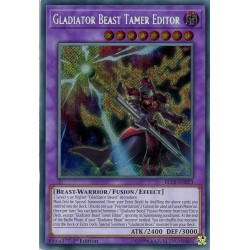BLLR-EN023 Gladiator Beast Tamer Editor
