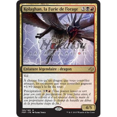 la furie de l/'orage    MTG Magic Francais Kolaghan