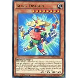 TDIL-EN034 Block Dragon  / Dragon en Briques