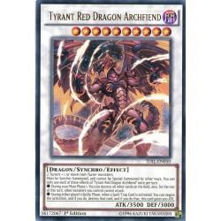 TDIL-EN050 Tyrant Red Dragon Archfiend  / Tyran Dragon Rouge Archdémon