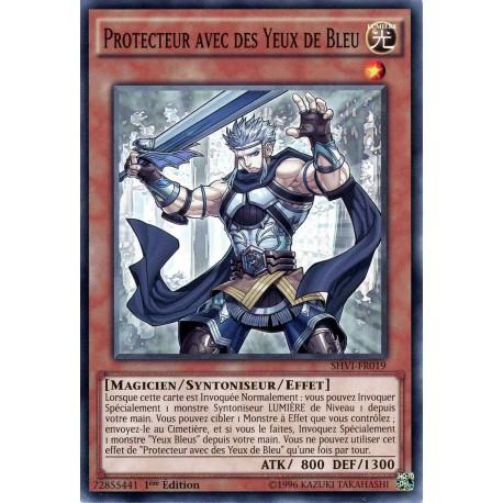 SHVI-FR019 Protecteur avec des Yeux de Bleu