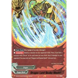 BFE X2-BT01A-SP/0034EN Secret Dragon Lord Quake Slash !!