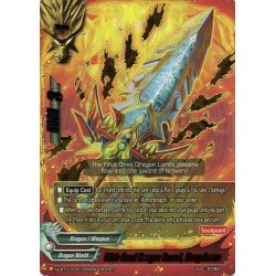 BFE X2-BT01A-SP/0035EN Secret Fifth Omni Dragon Sword, Dragobrave