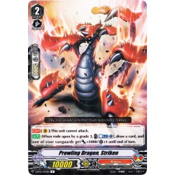 CFV V-BT01/034EN R  Prowling Dragon, Striken