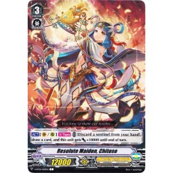 CFV V-BT01/050EN C  Decisive Judgment Maiden, Chitose