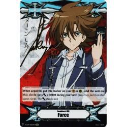 CFV V-GM/0009EN Gift Marker - Secret Rare  Force - Toshiki Kai Signed