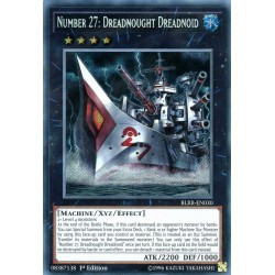 BLRR-EN030 Number 27: Dreadnought Dreadnoid / Numéro 27 : Cuirassé Cuiranoid