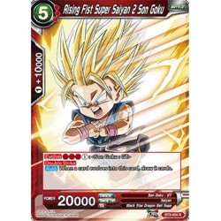 DBS BT3-004 R Rising Fist Super Saiyan 2 Son Goku
