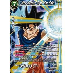 DBS BT3-033 SR Ultra Instinct -Sign- Son Goku