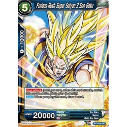 DBS BT3-035 UC Furious Rush Super Saiyan 3 Son Goku