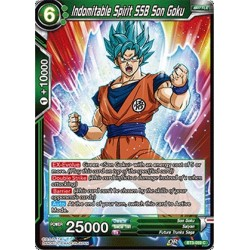 DBS BT3-059 C Indomitable Spirit SSB Son Goku