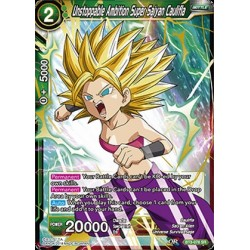 DBS BT3-078 SR Unstoppable Ambition Super Saiyan Caulifla