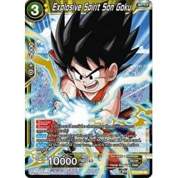 DBS BT3-088 SR Explosive Spirit Son Goku