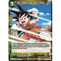 DBS BT3-090 UC No Openings Son Goku