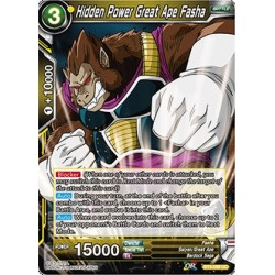 DBS BT3-098 UC Hidden Power Great Ape Fasha