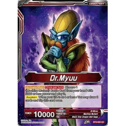 DBS BT3-002 Foil/UC Dr. Myuu