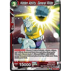 DBS BT3-020 Foil/C Hidden Ability, General Rilldo