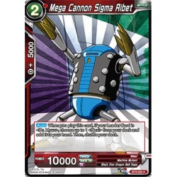 DBS BT3-025 Foil/C Mega Cannon Sigma Ribet