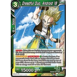 DBS BT3-065 Foil/C Dreadful Duo, Android 18