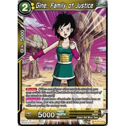 DBS BT3-087 Foil/C Gine, Family of Justice