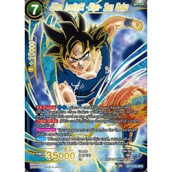 DBS BT3-033 SPR Ultra Instinct -Sign- Son Goku