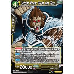 DBS BT3-096 UC Hidden Power Great Ape Tora