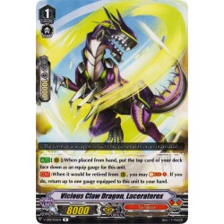 CFV V-EB01/022EN R  Vicious Claw Dragon, Laceraterex