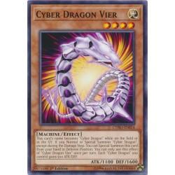 CYHO-EN014 Cyber Dragon Vier