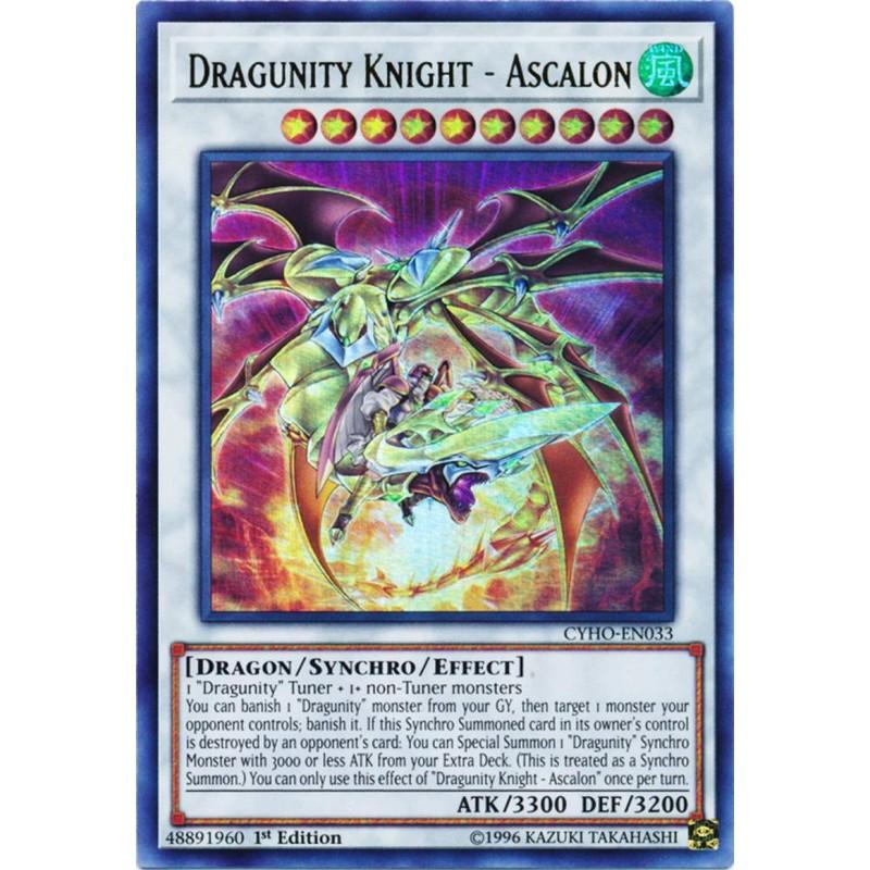 CYHO-EN033 Chevalier Dragunité Ascalon CYHO-EN033 Dragunity Knight Ascalon