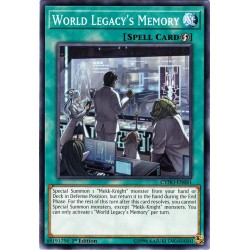 CYHO-EN061 Mémoire de l'Héritage du Monde / World Legacy's Memory