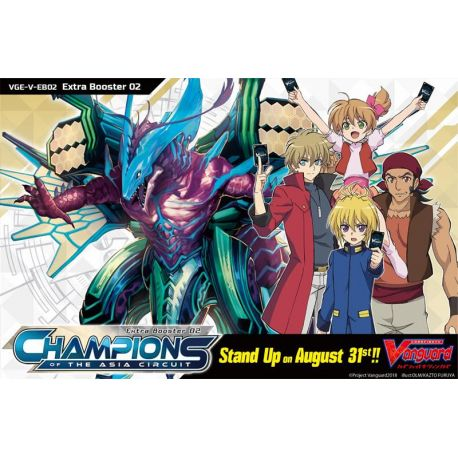 Boîte de 12 Extra Boosters V EB02 Champions of the Asia Circuit - Vanguard V
